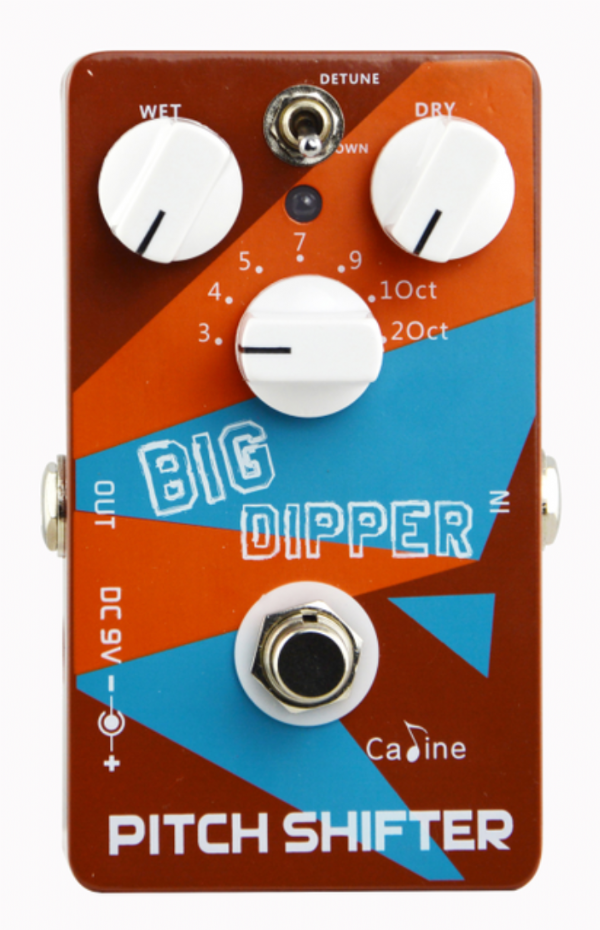 Caline CP-36 Big Dipper Pitch Shifter Octave Pedal